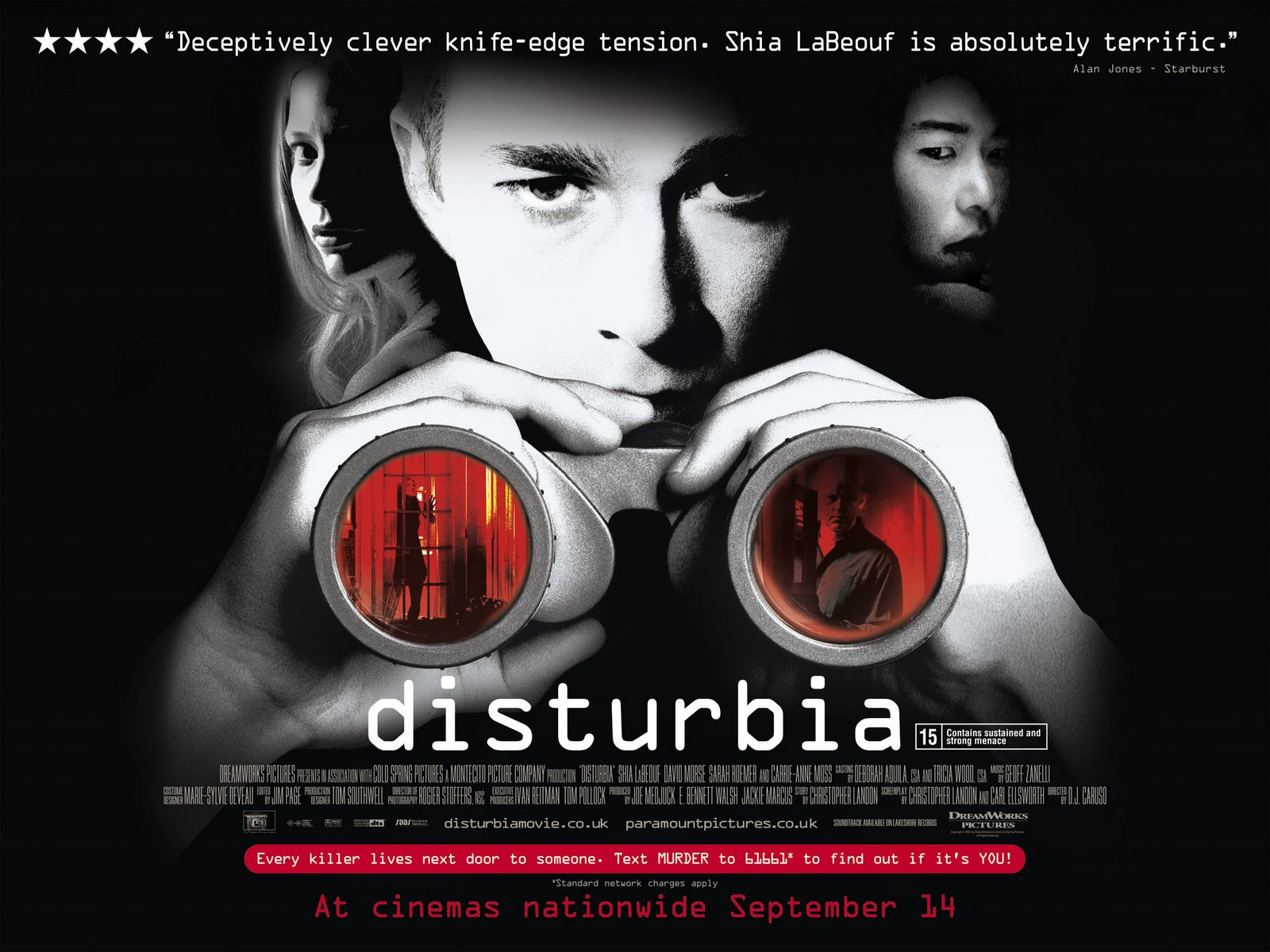 Disturbia (2007) Film Review | ireckonthat