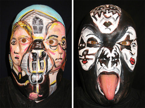 james-kuhn-awesome-face-painting-american-gothic-kiss