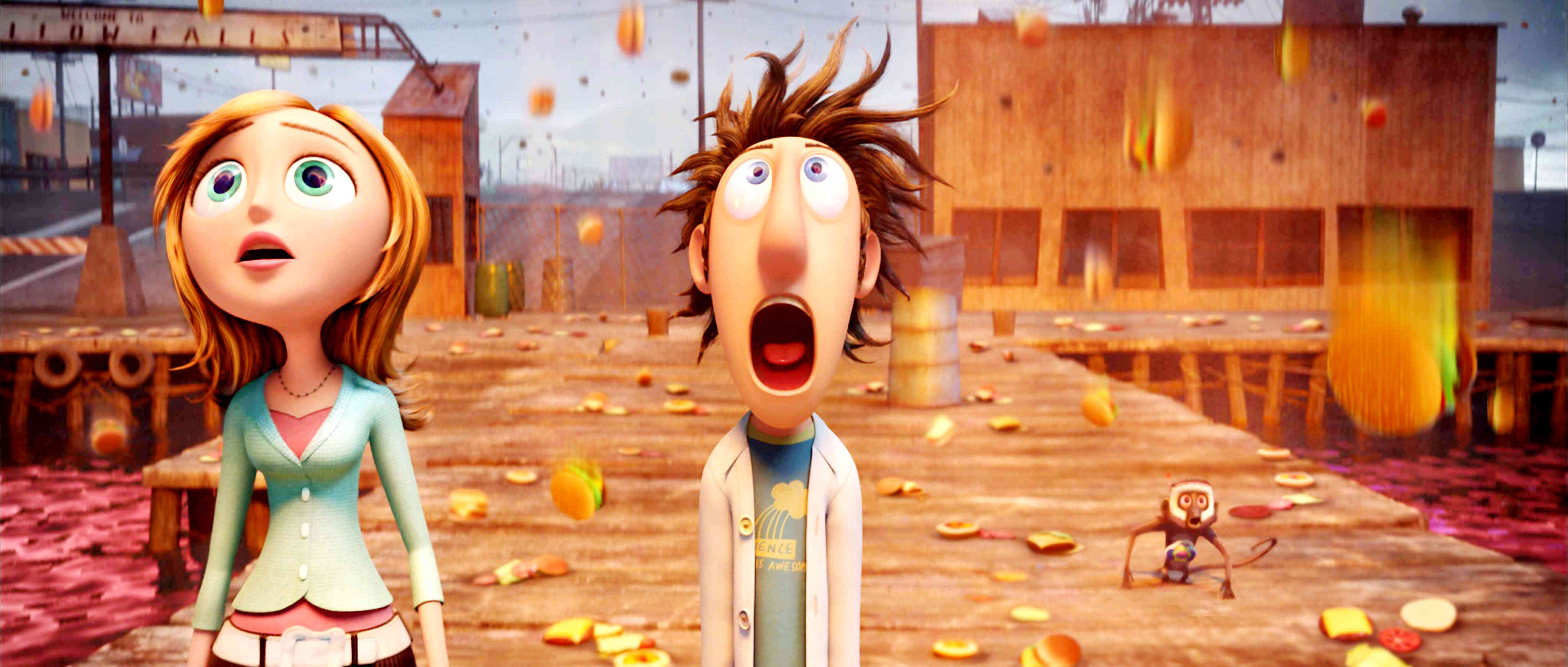 Cloudy with a Chance of Meatballs 2009 Film Review  ireckonthat